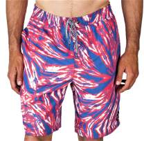 NEFF Men's Swimming Trunks Board Shorts Quick Dry