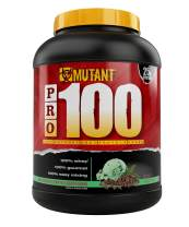 Mutant Pro a 100% Whey Protein Shake with No Hidden Ingredients, Comes in Delicious Gourmet Flavors, 4 lb - Mint Chocolate Chip Ice Cream