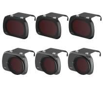 Fstop Labs Lens Filters for DJI Mavic Mini Camera Lens Set, Multi Coated Filters Pack Accessories (6 Pack) ND4, ND8, ND16, ND4/CPL, ND8/CPL, ND16/CPL
