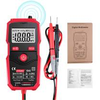 MiOYOOW Automatic Digital Multimeter Auto-Ranging Electrical Tester with Intelligent NCV Multi Function Multimeter AC/DC 600V 20Mohm Voltmeter Ammeter Ohmmeter