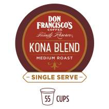 Don Francisco's Kona Blend (55 Count) Recyclable Single-Serve Coffee Pods, Compatible with Keurig K-Cup Brewers