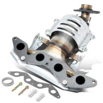 DNA Motoring OEM-CONV-004 Factory Style Catalytic Converter Exhaust Manifold Replacement