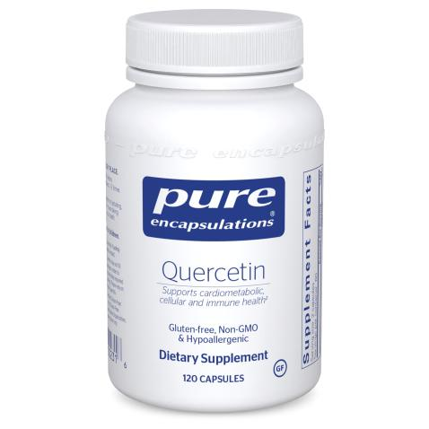 Pure Encapsulations Quercetin   Supplement with Bioflavonoids for Immune, Cellular, and Cardiometabolic Health* - 120 Capsules