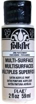 FolkArt Multi-Surface Paint in Assorted Colors (2 oz), 2895, Parchment