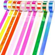 PuTwo Washi Tape, 10 Rolls Metallic Washi Tape, 15mm Glitter Washi Tape, Decorative Tape, Cute Washi Tape, Vintage Washi Tape, Japanese Washi Tape, Washi Tape for Journal, Decorative Tape for Crafts