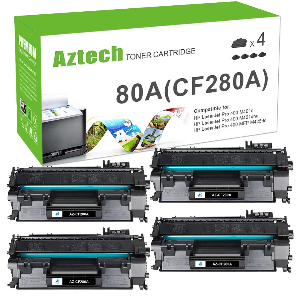 M425DN M401N M425DW Harris Imaging Supply Compatible Toner Replacement for HP CF280X M401D M401DW Black 80X M401DN Works with: Laserjet Pro 400 M401A