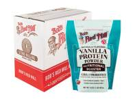 Bob's Red Mill Vanilla Protein Powder Nutritional Booster, 16-ounce (Pack of 4) (Package May Vary)