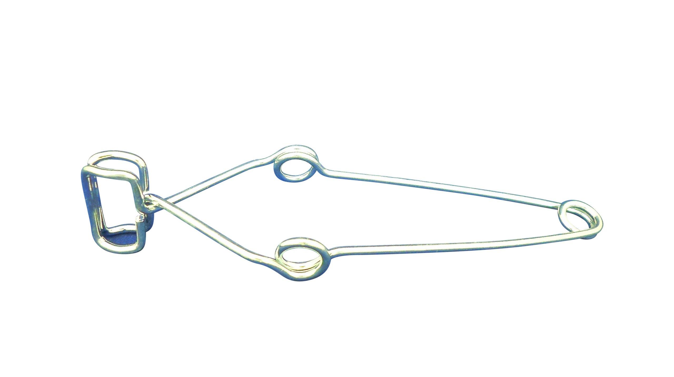 Ajax Scientific Spring Steel Test Tube Clamp, 16cm Length