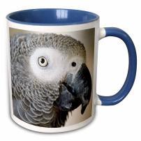 3dRose 140254_11 Mug, 15oz, Blue/White