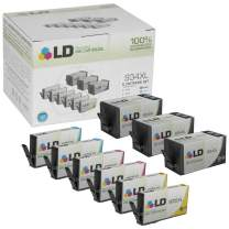 LD Remanufactured Ink Cartridge Replacement for HP 934XL & HP 935XL High Yield (3 Black, 2 Cyan, 2 Magenta, 2 Yellow, 9-Pack)