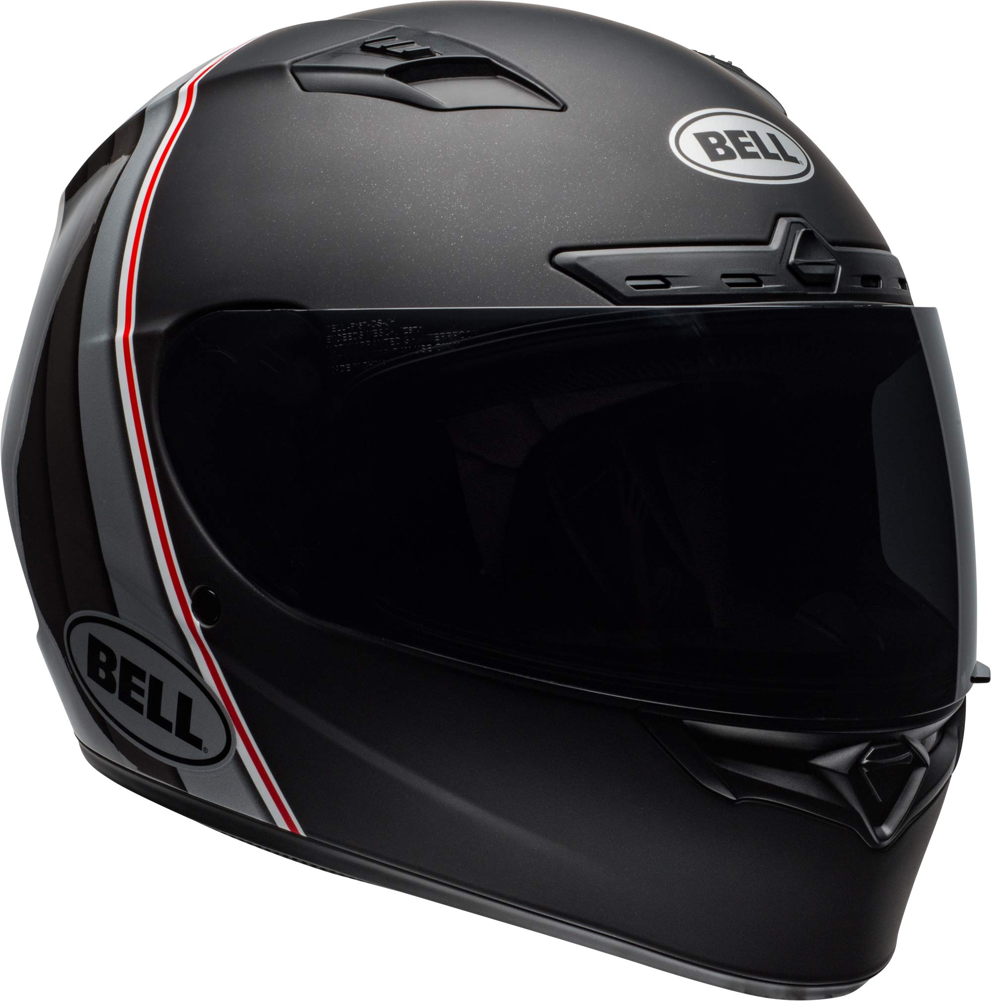 Bell Qualifier DLX MIPS Full-Face Motorcycle Helmet (Illusion Matte/Gloss Black/Silver, XXX-Large)