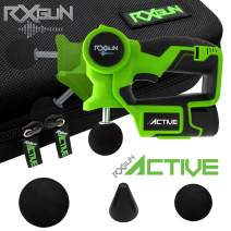 RxGun Active 3 Tips Percussion Professional Massager Cordless Rechargeable Handheld Percussive Deep Tissue Body Neuromuscular Muscle Pounding Vibration Therapy Massage Gun Tool NOT TheraGun Hypervolt