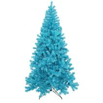 Vickerman Sky Blue Series Christmas Tree, B981271LED