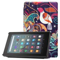 Famavala Shell Case Cover Compatible with All-New Fire 7 Tablet [9th Generation, 2019 Release] (TreeBird)