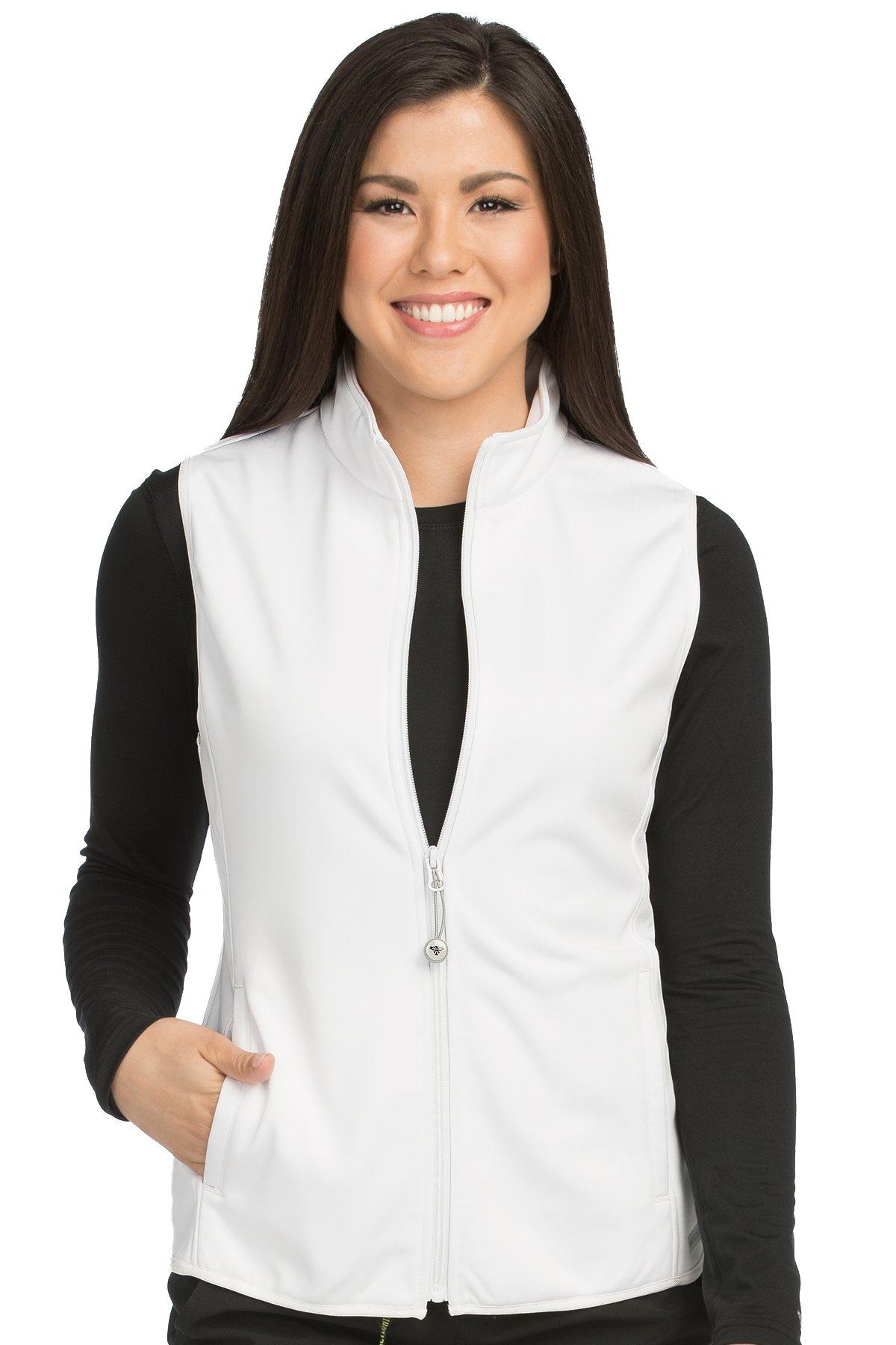 Med Couture Women's Bonded Fleece Med Tech Vest
