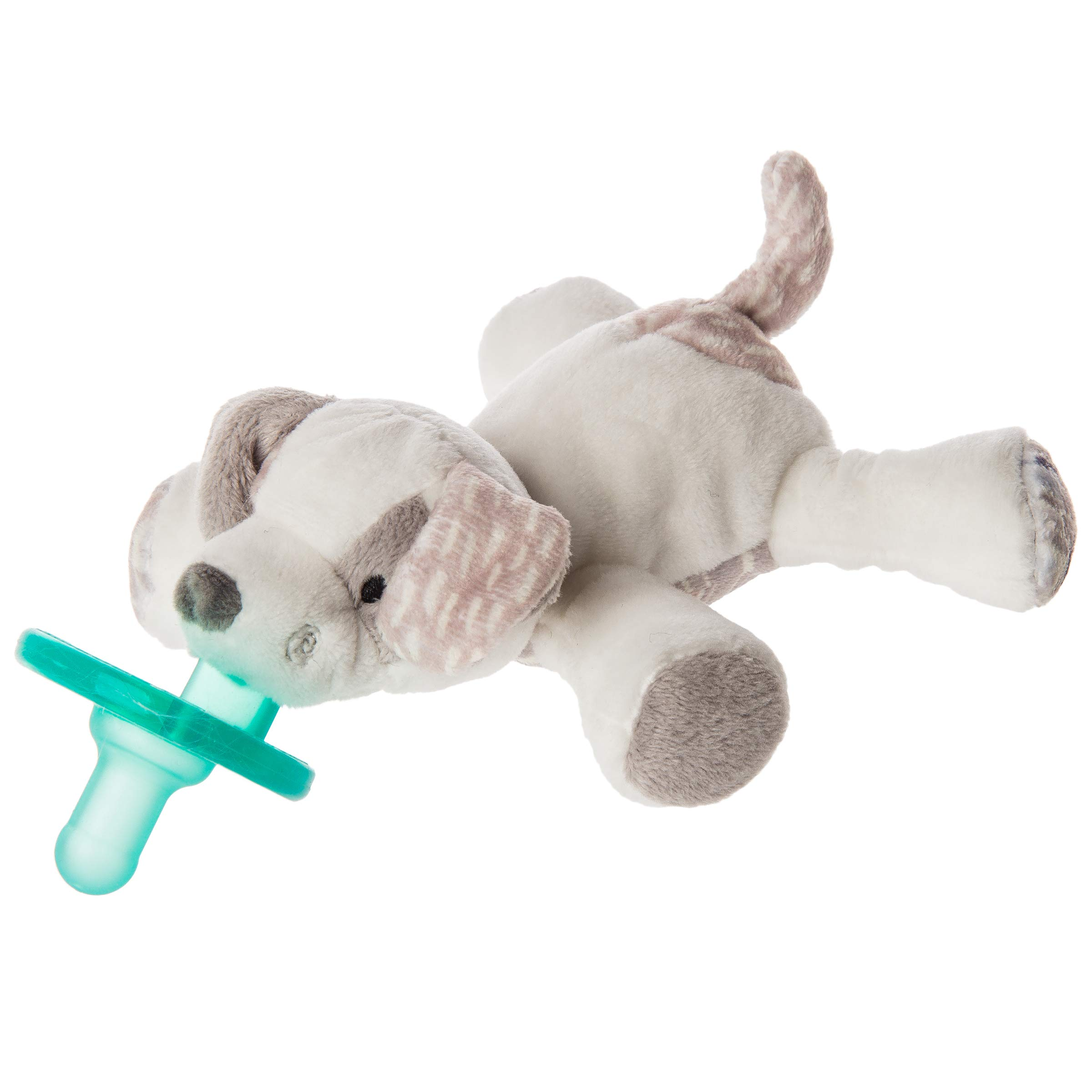 Mary Meyer WubbaNub Soft Toy and Infant Pacifier, Decco Pup