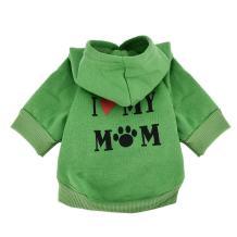 Howstar Pet Clothes, Puppy Hoodie Sweater Dog Coat Warm Sweatshirt Love My Mom Printed Shirt