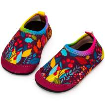 Apolter Baby Water Shoes Barefoot Swim Shoes Quick Dry Non-Slip Aqua Socks for Toddler Boys Girls