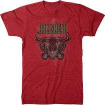 Bulls Head Saloon Vintage Bars Men's Modern Fit Tri-Blend T-Shirt
