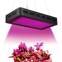 ARKNOAH 2000W LED Grow Light 380~850nm Full Spectrum Growing Light Fixtures with Red UV IR for Indoor Herbs and Plants Veg/Flowering Replace HPS Grow Light