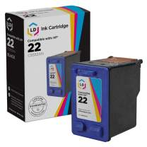 LD Remanufactured Ink Cartridge Replacement for HP 22 C9352AN (Color)