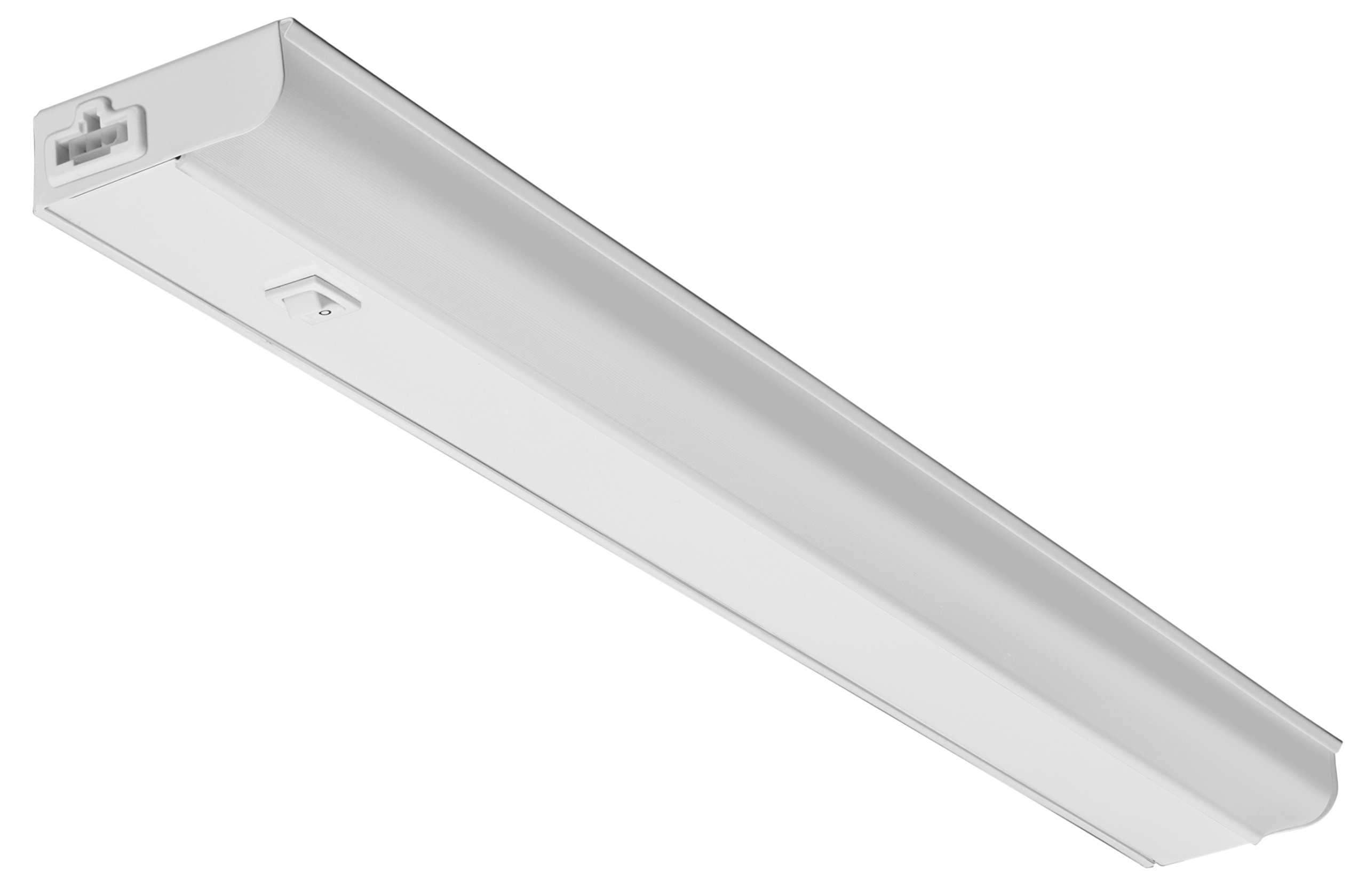"""Lithonia Lighting UCEL 24IN 30K 90CRI SWR WH M6 Contractor Select LED Linkable Cabinet Light 3000K 24"""" White"""