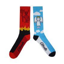 Aksels Split Pair Calf Socks for Men and Women