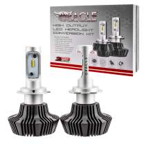 ORACLE 4,000 Lumen LED Headlight Bulbs - One Pair of LED Headlights for Cars (H7) - Part # 5232-001