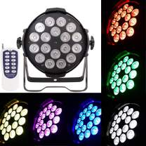 HSL Stage Lights, Par Lights RGBW18x15W, Concerts, Professional Stage Lighting, Clubs, Churches, Banquet Halls, Weddings