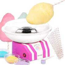 Classic Cotton Candy Maker by Secura - Sugar, SugarFree, or Hard Candy Cotton Candy Machine CCM668