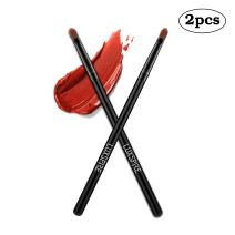 Luxspire Lip Brush Concealer Brushes 2 Pieces, Lipstick Gloss Brushes Applicators Eyeshadow Lip Liner Makeup Brush Cosmetics Make Up Tools, Small Make Up Brushes