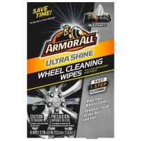 Armor All Car Wheels Cleaner Wipes - Cleaning for Cars & Truck & Motorcycle, 16 Count, 18509