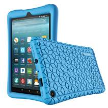 Famavala Silicone Case Cover Compatible with All-New Fire 7 Tablet [9th Generation, 2019 Release] (ABlue)