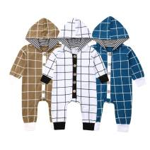 TheFound Unisex Baby Jumpsuits Outfits One Piece Long Sleeve Button Rompers Infant Boy Girl Playsuit Clothing