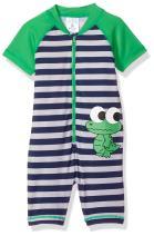 KIKO & MAX Boys' Baby Full Body Rash Guard Swim Suit Coverall