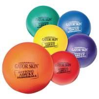 Gator Skin Official Adult Dodgeball 6-Color Set (Pack of 6)