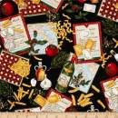Robert Kaufman Choice Chef Collage Fabric by The Yard, Multi