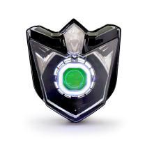 KT LED Angel Eye Headlight Assembly for Yamaha FZ6R 2009-2017 Green Demon Eye