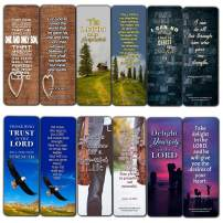 Scriptures Cards - Powerful Scriptures On Faith, Hope, Love and More (60 Pack) - Stocking Stuffers Devotional Bible Study - Church Ministry Supplies Teacher Classroom Incentive Gifts