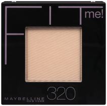 Maybelline New York Fit Me! Powder, 320 Honey Beige, 0.3 Ounce