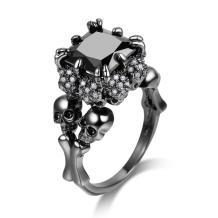 Oyifan Women Skull Rings Gothic Jewelry