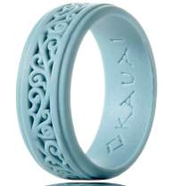KAUAI - Silicone Wedding Rings for Men & Women Timeless Elegance Ring Collection. Leading Brand, from Leading Brand, from The Latest Artist Design Innovations to Leading-Edge Comfort Band