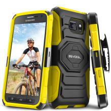 Evocel Galaxy S7 Active [New Generation] Rugged Holster Dual Layer Case [Kickstand][Belt Swivel Clip] for Samsung Galaxy S7 Active SM-G891 (2016 Release), Yellow