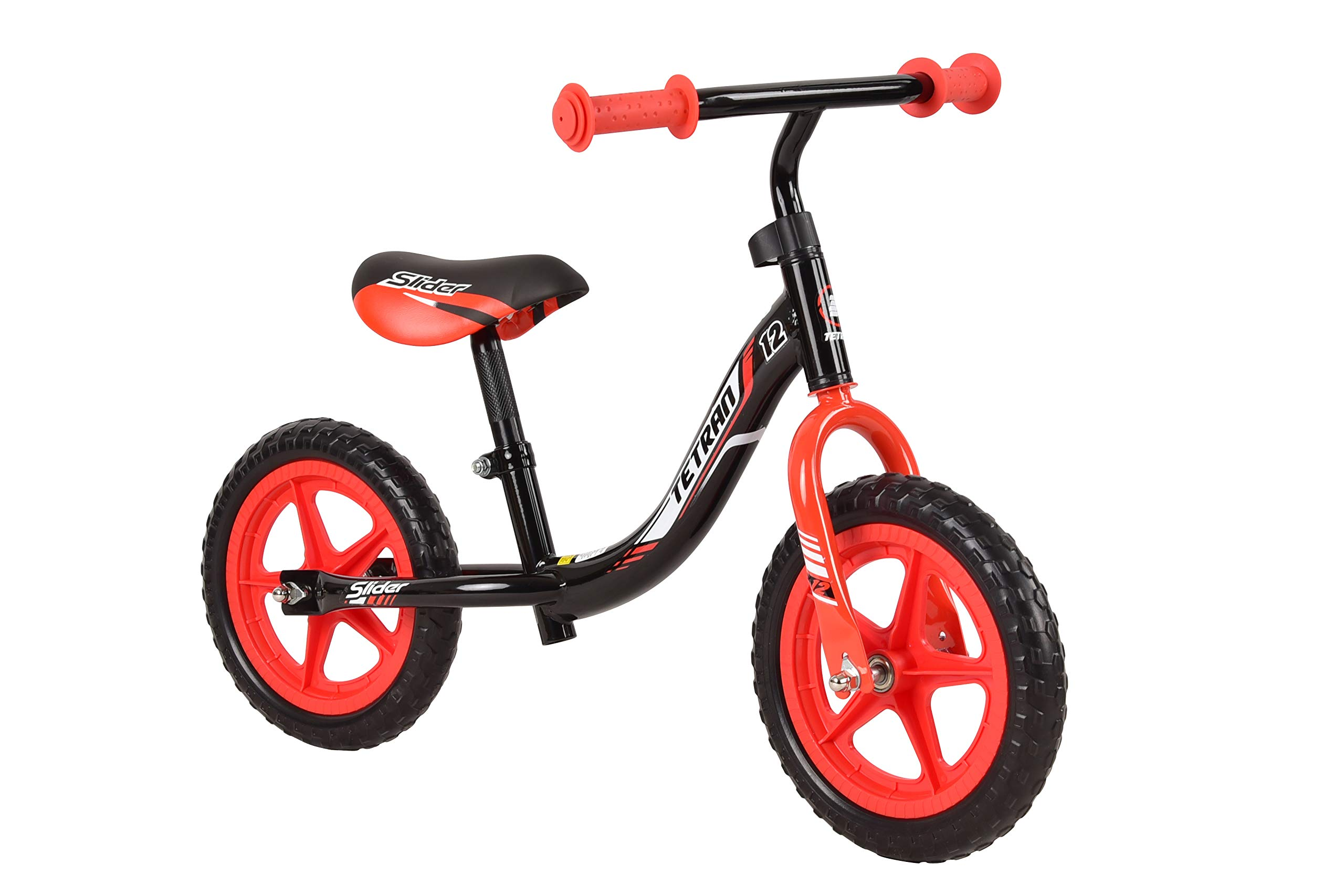 Tetran Kids -12 Inch Balance Bikes, Ages 2 to 5, Multi-Colors for Boys and Girls