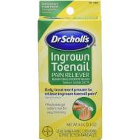 Dr. Scholl's Ingrown Toenail Pain Reliever, 1 kit, (w/ Gel, 12 retainer rings & 12 protection bandages) (Pack of 2)