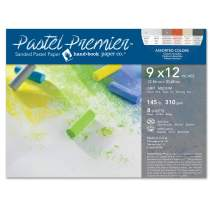 Speedball 517028 Premier Sanded Pastel Paper, 9 x 12, Assorted Colors