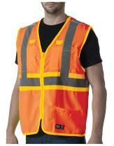 Walls Ansi Ii Safety Vest High Visibility 2X Orange