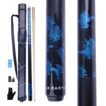 AB Earth Pool Cue Billiards Maple Stick Handmade Painting Design (2nd Generation) Glue on Tip