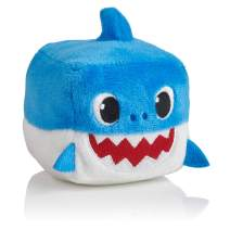 WowWee Pinkfong Baby Shark Official Song Cube - Daddy Shark, Blue, 5 x 3 x 3.5 (Inches)