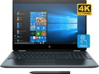 "HP Spectre x360-15 Home and Business Poseidon Blue Laptop (i7-8565U 4-Core, 32GB RAM, 1TB PCIe SSD, 15.6"" Touch 4K UHD (3840x2160), GeForce MX150, Fingerprint, WiFi, Bluetooth, Webcam, Win 10 Pro)"